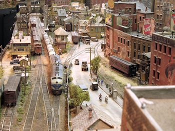 "A small corner of Rod Stewart's ""Train Set"""